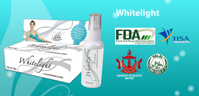 Whitelight Glutathione Sublingual Spray