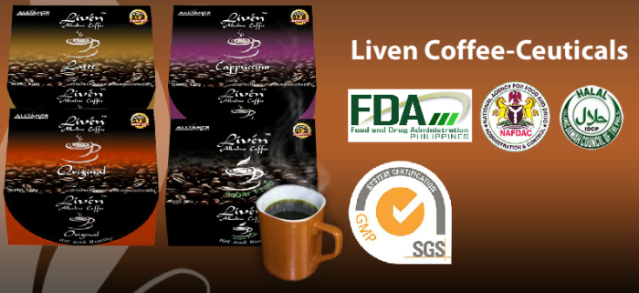 LIVEN ALKALINE COFFEE